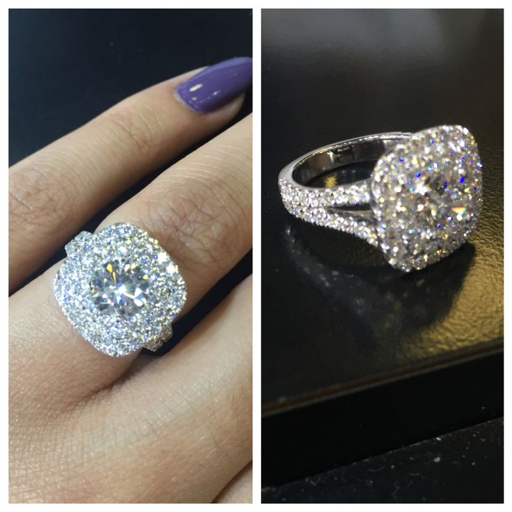 A Gorgeous Custom Design With A Round Brilliant Cut