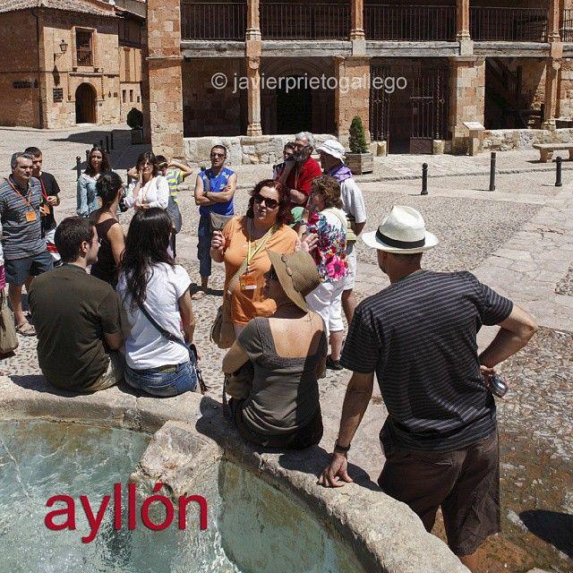 Visita turística por Ayllón. #Segovia #photography www.siempredepaso.es