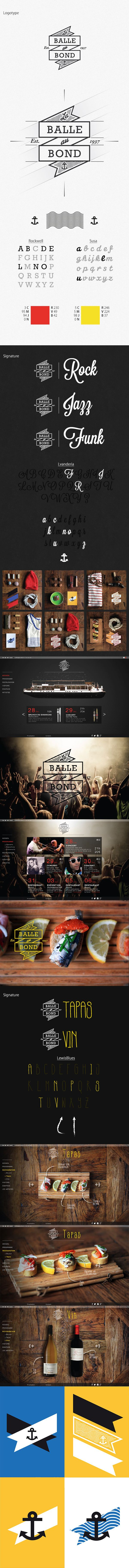 Balle au Bond on Behance in Stamping
