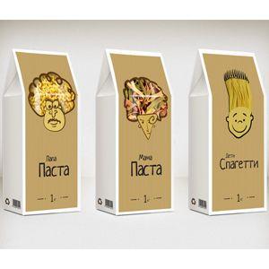 Мама Паста, Папа Паста, Дети Спагетти— макароны