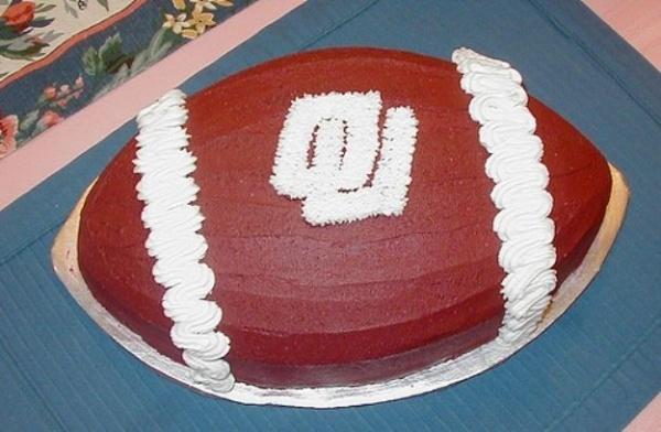 ou grooms cake - Google Search