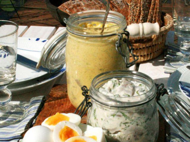 Honungs- och currysill (kock Leila Lindholm)