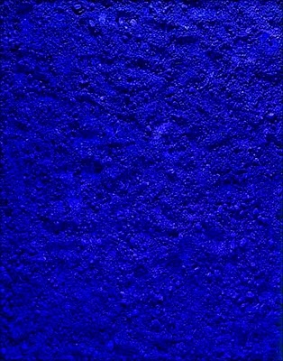 """Vik Muniz, """"Untitled Blue"""" after Yves Klein from Pictures of Pigment"""