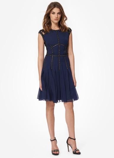 Silk Lace T Dress- Rebecca Taylor
