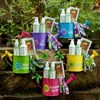 Cheerful Watering Can Garden Sets