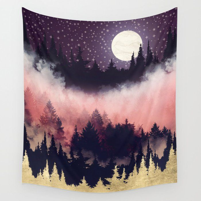 Evening Glow Tapestry Tapestry Tapestry Wall Art Wall Tapestry