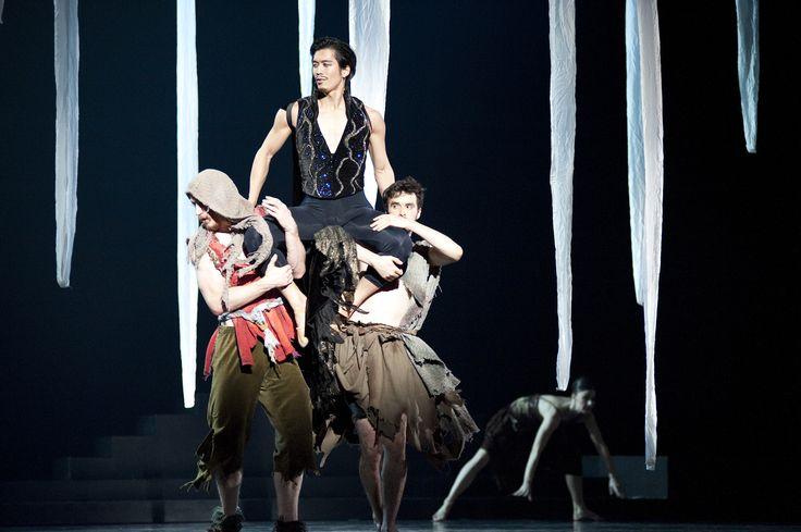 2012 Princess and the Goblin - Former RWB Dancer Eric Nipp, Yosuke Mino and Philippe-Alexandre Jacques - Photo Courtesy RWB Archives