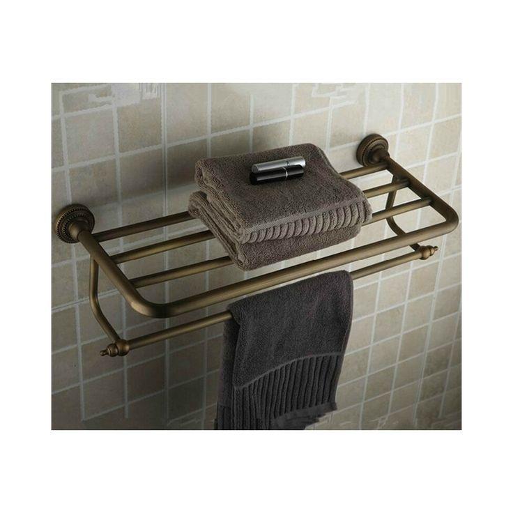 浴室タオルラック タオル掛け タオル収納 壁掛けハンガー バスアクセサリー アンティーク