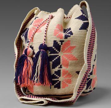 wayuu taya bucket bag Wayuu Taya Knit Bags