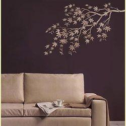 Tree Wall Stencil: Decor Ideas, Japanese Maple, Wall Stencil, Decorating Ideas, Maple Branch, Home Decor, Branches