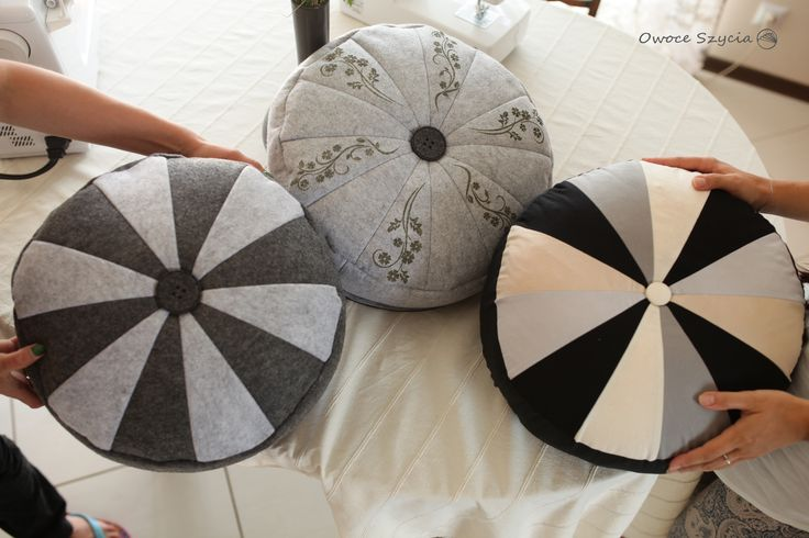 Szycie poduszek/puf | Sewing pillows