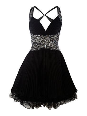 Cute black or white dresses