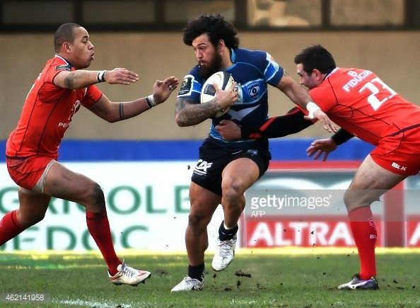 News Photo : Toulouse's French centre Gael Fickou and...