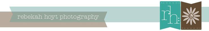 Rebekah Hoyt Photography blog - great wedding photography tips
