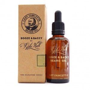 Olejek do brody - Ricki Hall's Booze & Baccy Beard Oil 50ml