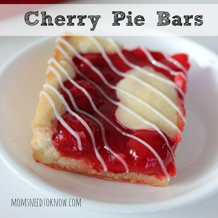 1000+ ideas about Cherry Pie Bars on Pinterest | Pie Bars ...