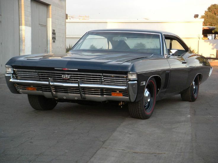 1968 Chevy Impalla Maintenance Restoration Of Old Vintage: 1968 Impala Rare With The Hidden Headlights Looks Sinister