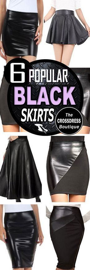 Crossdress Boutique - 6 most popular black skirts for crossdressers. See them here: http://www.crossdressboutique.com/tgirl/crossdressing-clothing/skirts/