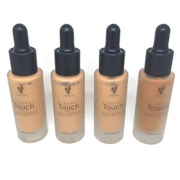 Liquid touch foundation I have liquid touch foundation in !! I have taffeta, velour and chiffon. If you would like to purchase through here it will be shipping if u purchase through pae pal u get free shipping and will send invoice just send email! Thanks Younique Makeup Foundation