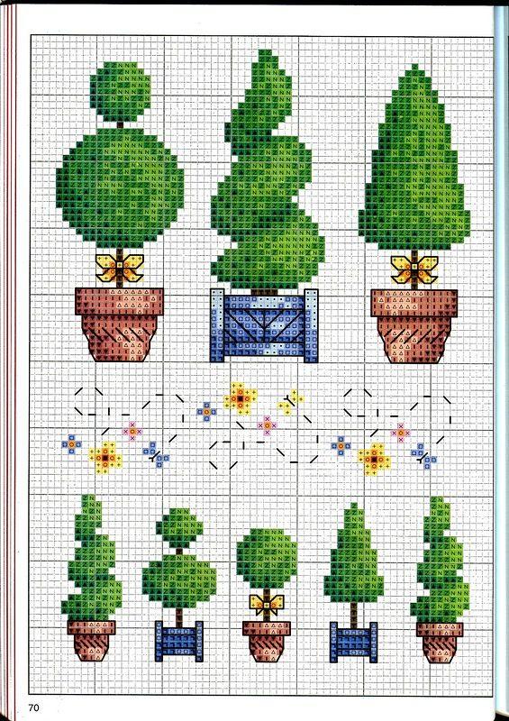 Garden cards or borders