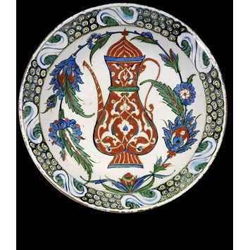 Dish Place of origin: Iznik, Turkey (probably, made) Date: 1590-1600 (made)