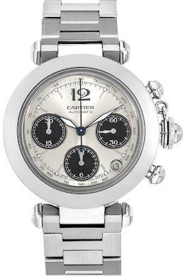 Cartier Pasha C Chronograph (W31048M7) - Pre-Owned Men's Watch