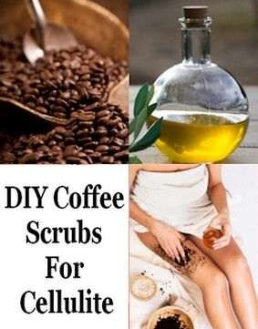 DIY Coffee Scrubs For Cellulite