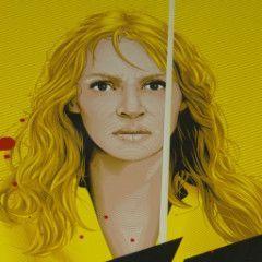 Kill Bill Vol 1 - 2014 Tracie Ching poster print Quentin Tarantino Movie