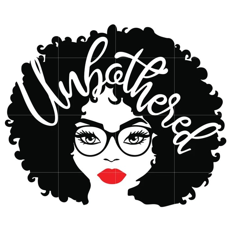 Download Unbothered Black Girl Svg, Afro Woman Svg, African ...