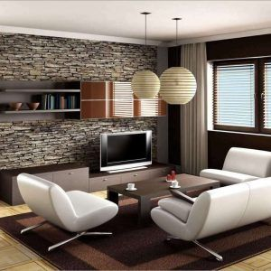 Latest Living Room Wallpaper Designs