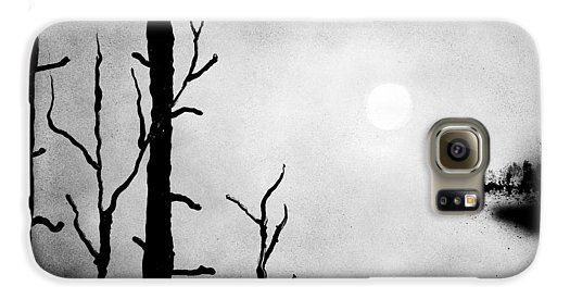 On The Edge Galaxy S6 Case  Printed with Fine Art spray painting image On The Edge by Nandor Molnar (When you visit the Shop, change the orientation, background color and image size as you wish)