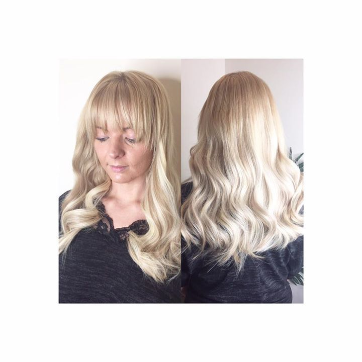🍾🍾 champagne blonde 18 inch goldlace La weave by me coloured and styled by Hannah in salon adding length to damaged hair at sides creating a full bolume hair mane ! 🍾🍾 beauty works vip salon 🍾🍾 #http://www.jennisonbeautysupply.com/  ,#hairinspo #longhair #hairextensions #clipinhairextensions #humanhair #hairideas #hairstyles #extensions #prettyhair  #clipinhairextensions #hairextensions #longhairgoals #hairextensionsspecialist #queenbhairextensions  virgin human hair wigs/hair…