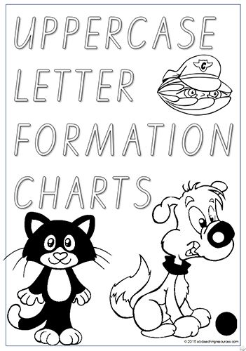 Foundation | Handwriting |UPPERCASE Letter Formation | Charts ...