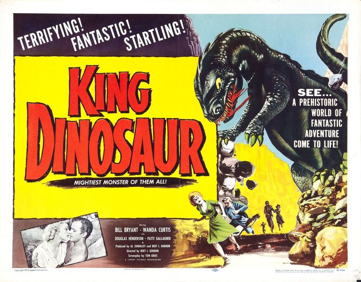 King Dinosaur is a 1955 science fiction film starring William Bryant and Wanda Curtis with narration by Marvin Miller. The film was featured on season 2 of Mystery Science Theater 3000.
