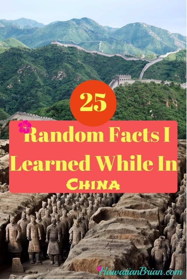 25 Random Facts I Learned While In China