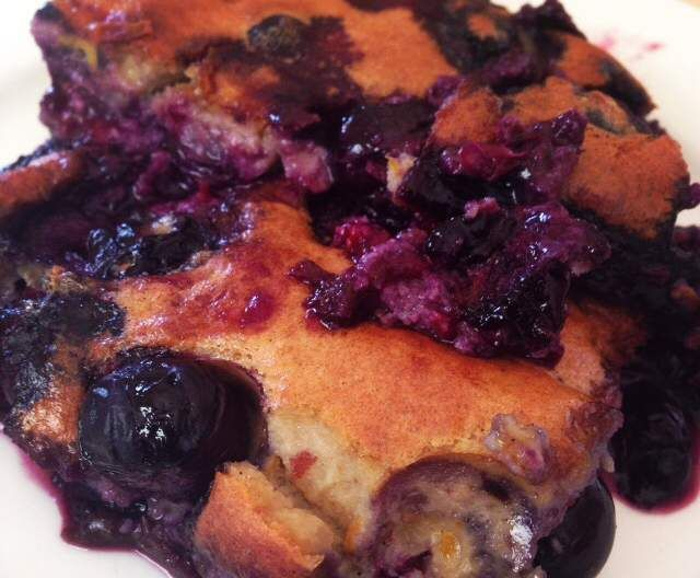 Recipe Blueberry Clafoutis (gluten free, paleo friendly) by Fionagibbs - Recipe of category Baking - sweet