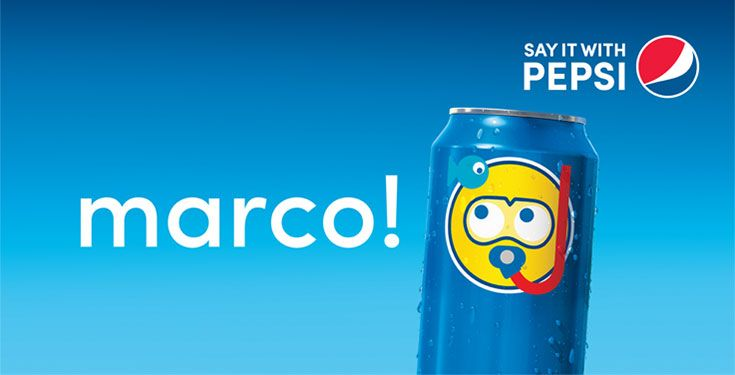 Say it with Pepsi – Check out the Pepsi Emoji Campaign