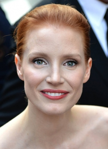 Jessica Chastain at the 2013 CFDA Fashion Awards