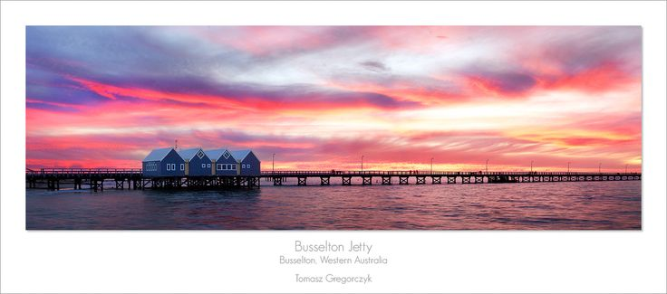 Busselton Jetty by Tomasz Gregorczyk on 500px