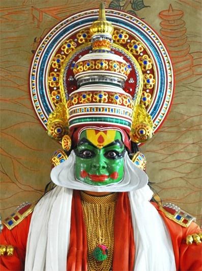 Kadhakali is the most famous classical dance-drama of Kerala