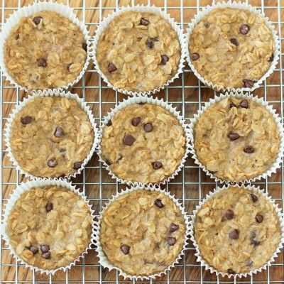 Skinny Mom | Connection Recipe: Breakfast Oatmeal Cupcakes To Go