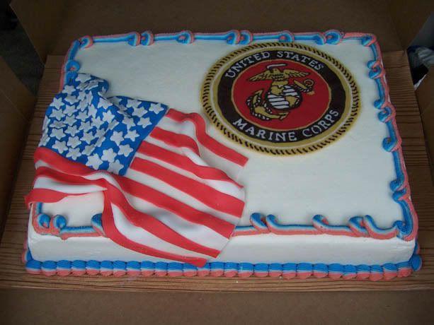 Usmc Birthday Cake Picture