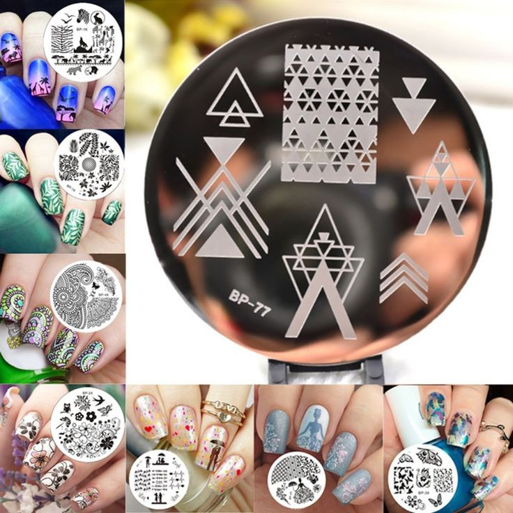 Nail Art Lace Image Stamping Plate Manicure Stamp Chic Stamper Template Kit 1pcs #NailArtChina