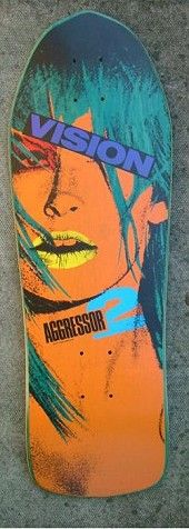 One of my favourite boards from the early 90s | Vision Aggressor 2