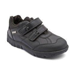 Aqua Rain, Black Leather Boys Riptape School Shoes http://www.startriteshoes.com/school-shoes/