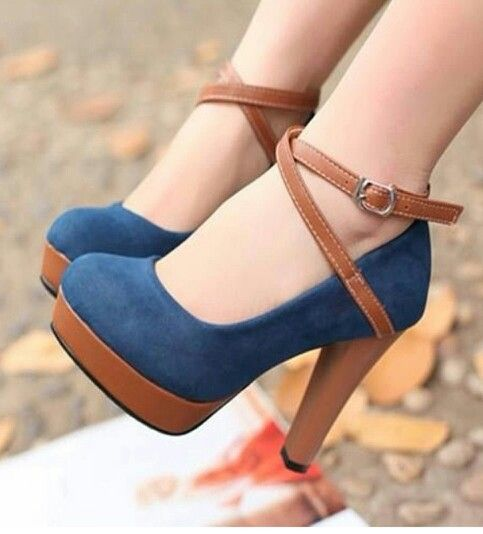 Im a huge fan of brown and blue and these cuties are perfect for me