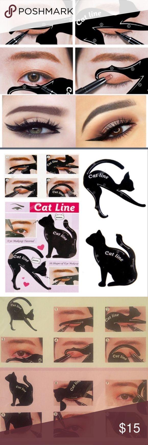 😺2 packs😺 Cat eye makeup stencils! Makeup Brushes & Tools