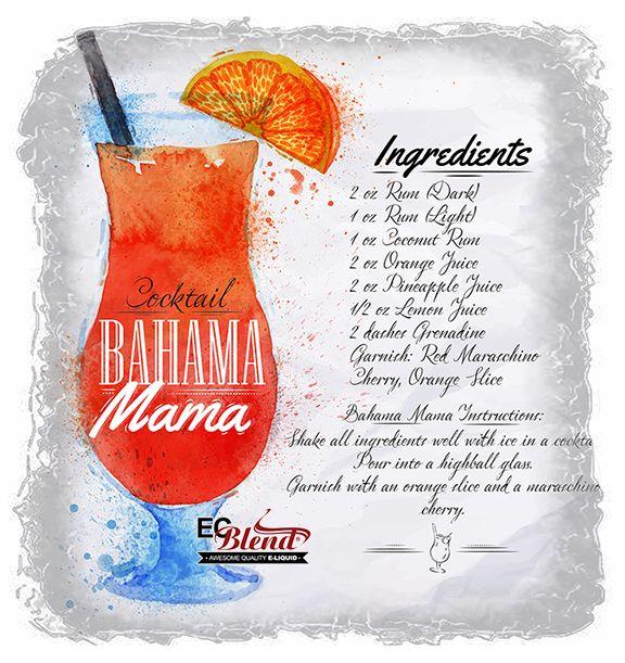Bahama Mama E-Liquid at ECBlend Flavors