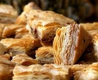 Bulgarian Desserts: Baked apples, Baklava, Mekitzi, Crème caramel, Milk banitsa, Saraliiska banitsa, Spinach banitsa