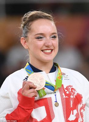 Amy Tinkler Becomes Youngest British Athlete To Win At The Olympics At Age 16